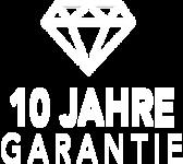 Button 10 Jahre Garantie von Super-Zaun