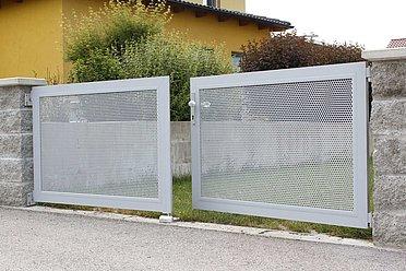Gartentor, einfahrtstor, Tore, gartentor metall, super-zaun
