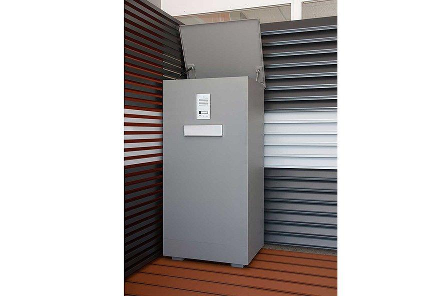 Paketbox, Paket, Super-Zaun, Aluminium, Deutschland