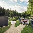 Gartenhütte, Gartenhaus, Geräteschuppen, Super-Zaun, Deutschland, Stahl,