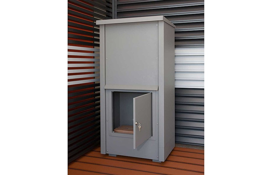 Paketbox, Paket, Aluminium, Super-Zaun, Deutschland