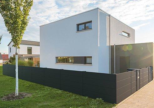 Zaun, Aluminium, Aluzaun, Gartenzaun, Sichtschutzzaun, blickdicht, Superzaun, Garantie, Heisenberg