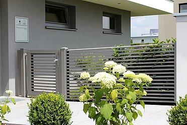 Eingangstür, Gehtüre, Gartentür, Tür, super-zaun, pforte