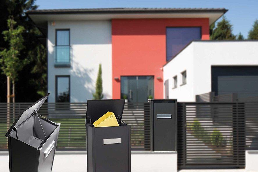 Paketbox, Magnus, Paket, Zaun, Aluminium, Super-Zaun, Deutschland